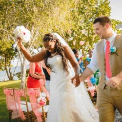 April and Serghei's destination wedding pictures