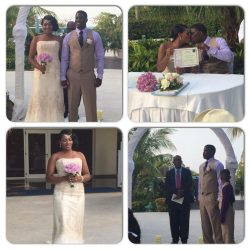 Arial's destination wedding pictures