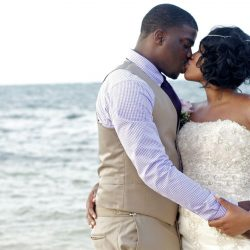Arial Johnson's destination wedding
