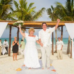 Photo from Erin's destination wedding on the beach