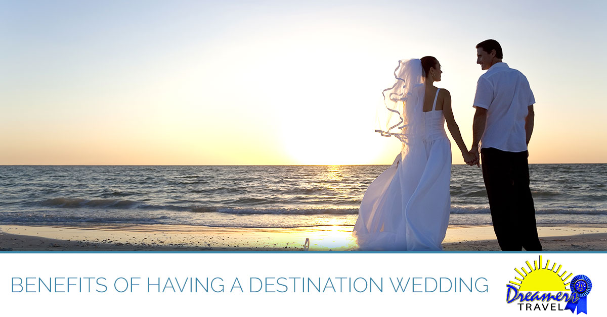 Learn about the benefits of a destination wedding from our Maryland travel agency