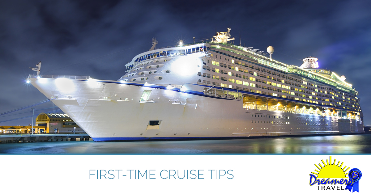First time cruise tips from our Maryland travel agents