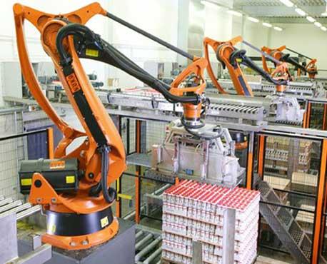 Robotic Palletizer Palletizers Palletizer Machine E