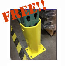 Material Handling Systems - Free frame protector
