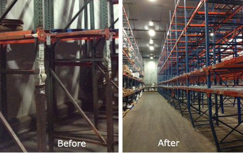 Used Pallet Racking Systems
