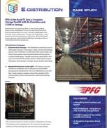 E-Distribution Case Study - Push-Back Pallet Rack