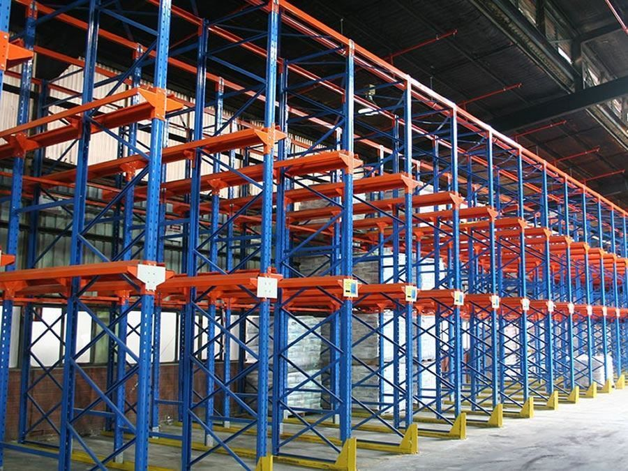 Drive-In Pallet Rack - E-Distribution