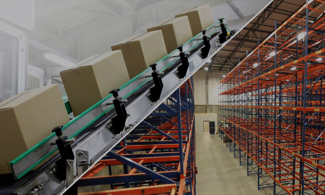 Warehouse Pallet Rack Installation - E-Distribution