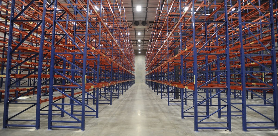 Warehouse Pallet Rack Design - E-Distribution