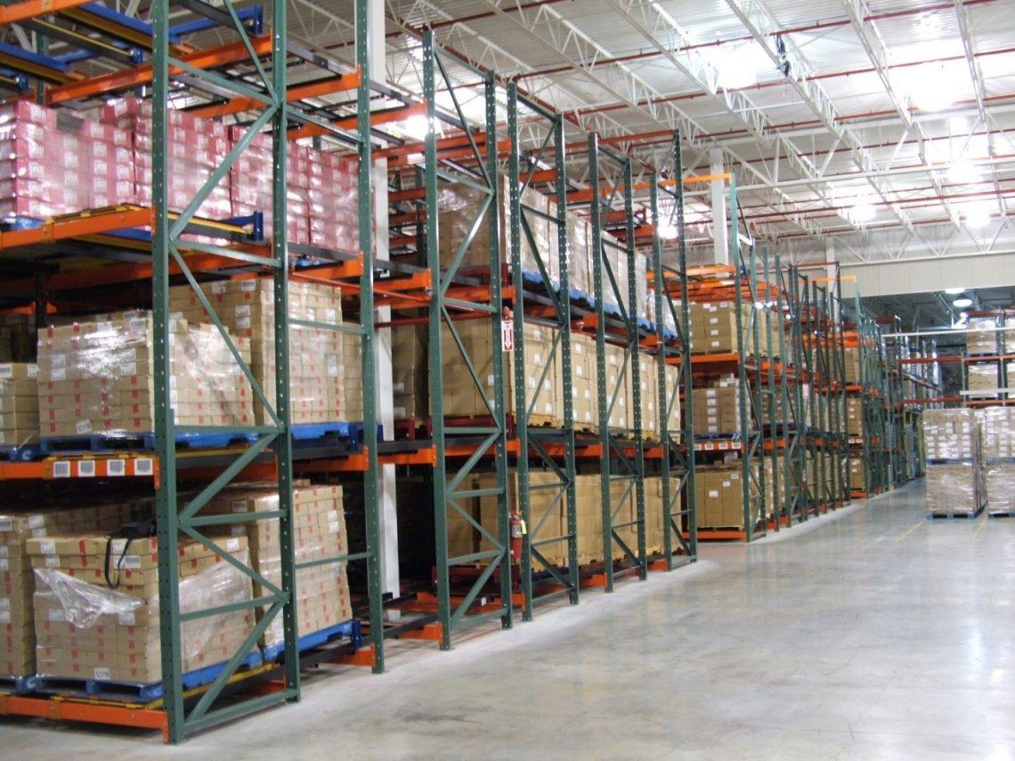 Warehouse Pallet Rack - E-Distribution