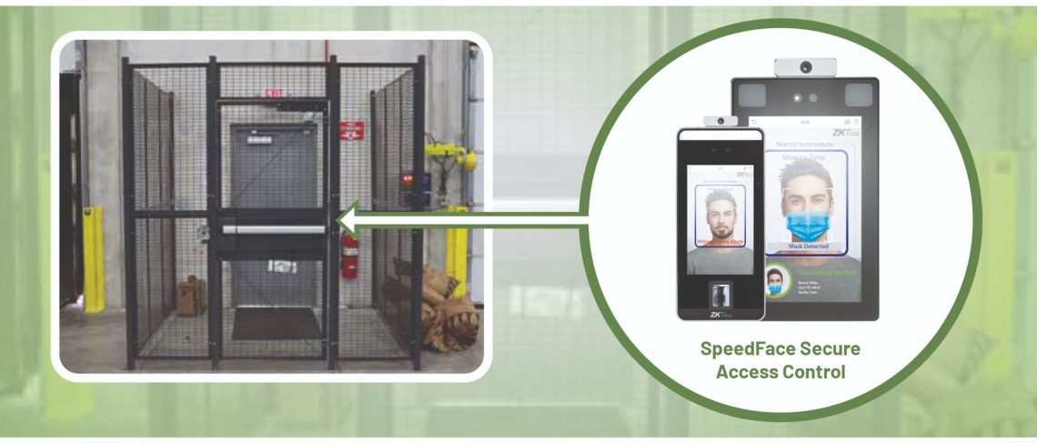 SpeedFace Touchless Warehouse Access - E-Distribution