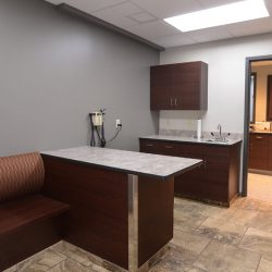Exam room at our Riverside animal hospital