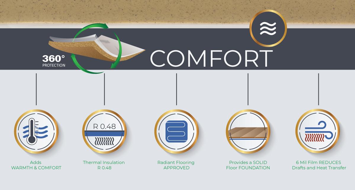 ECF Comfort Infographic