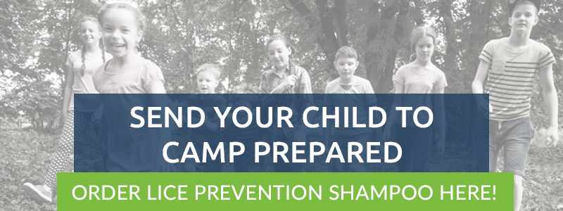 """Banner reading """"Send Your Child to Camp Prepared 