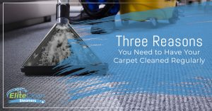 Three Reasons You Need to Have Your Carpet Cleaned Regularly