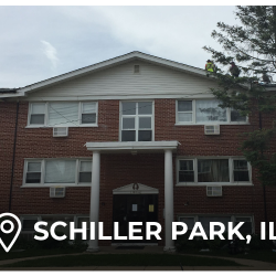 Schiller Park home with roof repairs from elite exteriors in Chicago