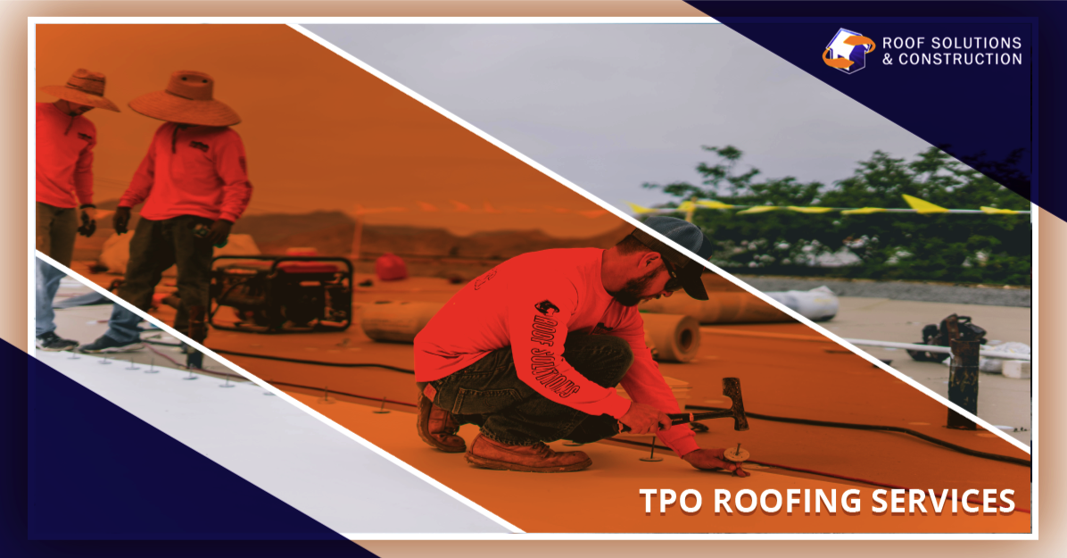Tpo Roofing Services Get Installation Repair And
