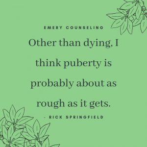 Emery Counseling Puberty Tips Bree Emery