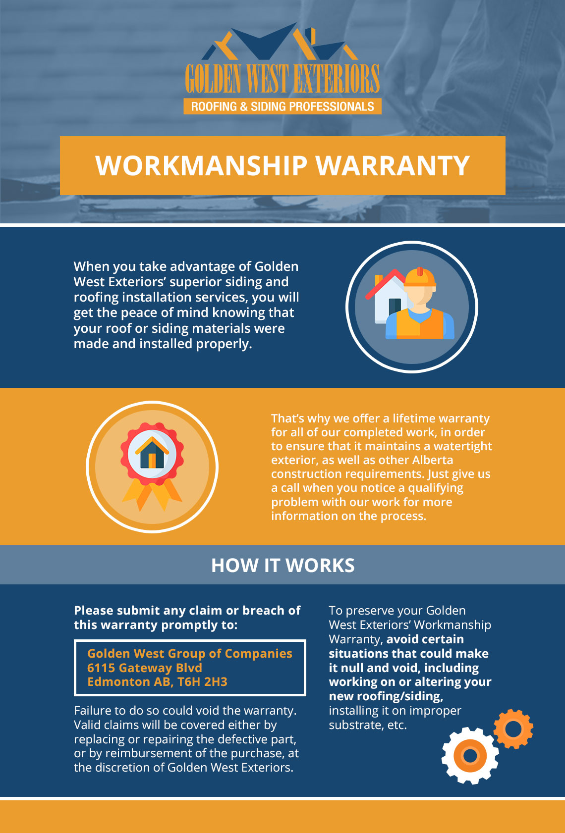 Edmonton Contractor Workmanship Warranty