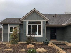 EDCO: Willow & Sage (https://www.edcoproducts.com/inspiration.html?f.product=siding&f.building=single&mi.id=etx-willows6-sagev12-01-1)Board and Batten Metal Siding