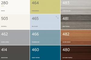 Color Palette- Vesta Siding