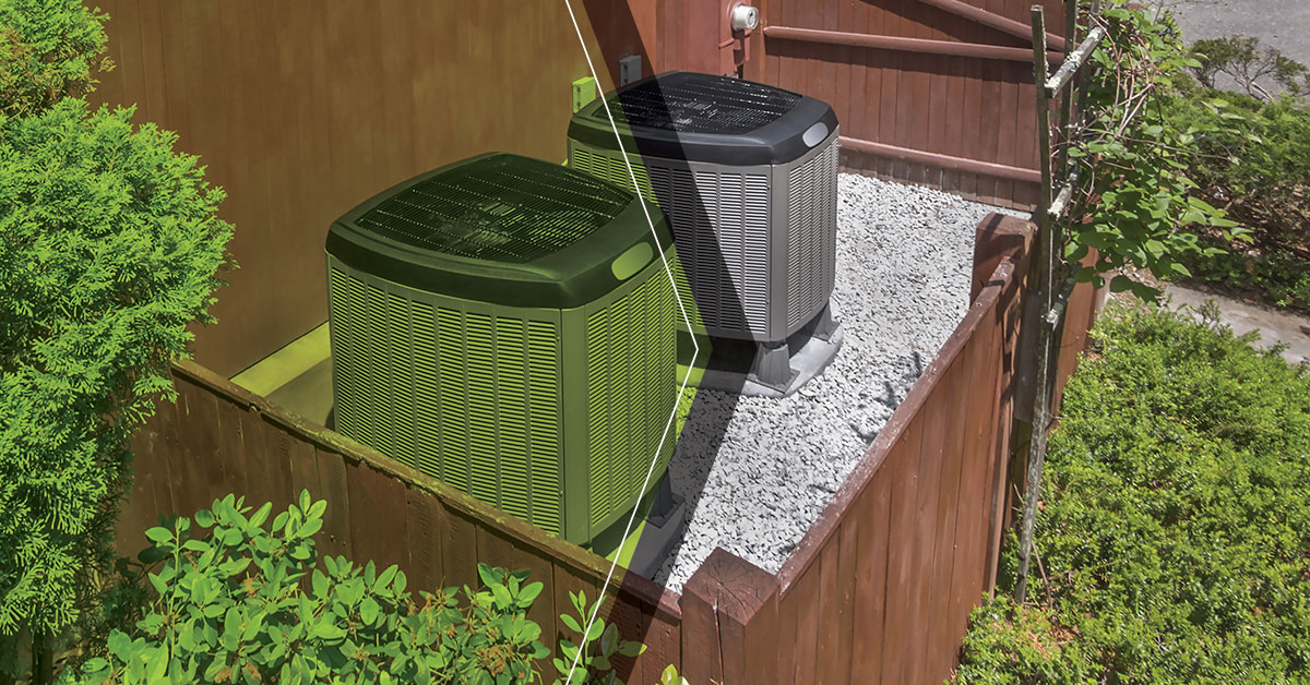 Picture of: Heating And Cooling Las Vegas Enclosing Your Ac Unit
