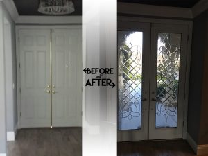 Have you ever seen one of those movies that is exceptionally hard on windows and doors. You know the kind I am talking about anything from the 1980s or 90s ... & Stained Glass Front Door: Hollywood Doors