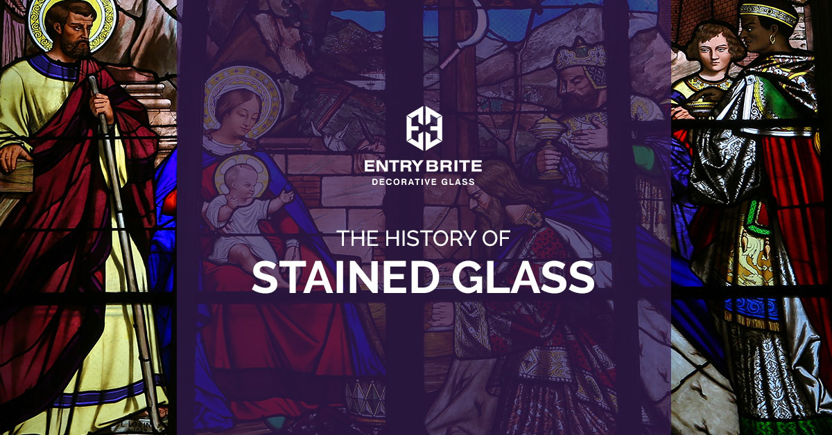 Stained Glass Front Door Phoenix The History Of Stained Glass