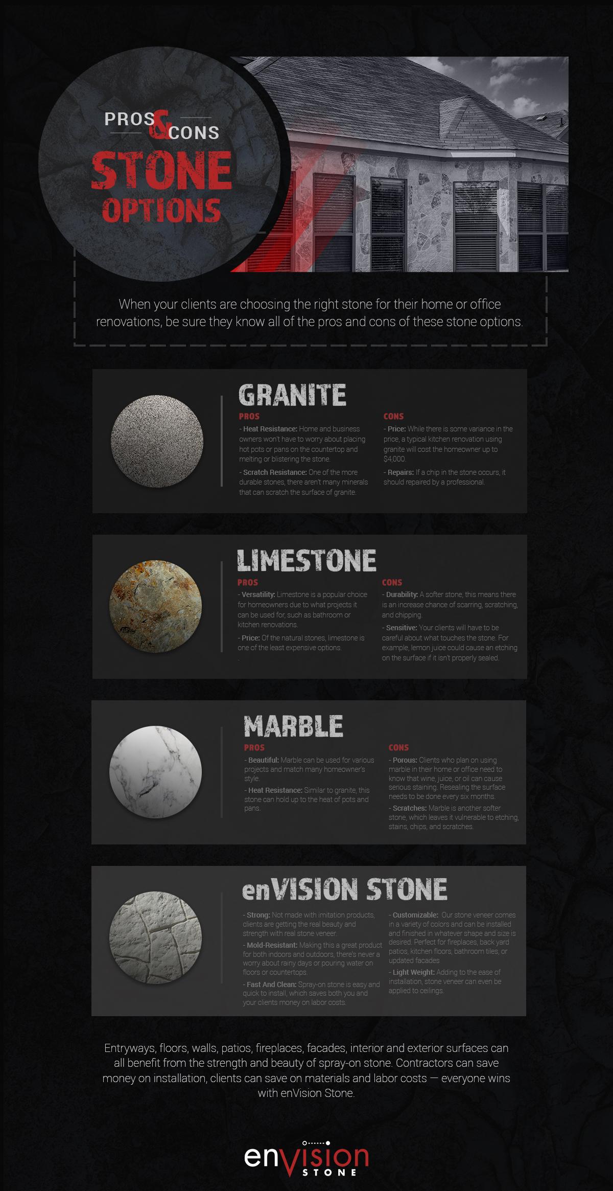 spray stone