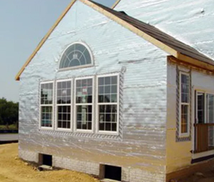 House Wraps In Cache Valley - Increase Efficiency With A ... on home masonry, home ventilator, home crawl space insulation, home crown molding, home solar energy, home windows, home air conditioning, home building materials, home fencing, home new construction,