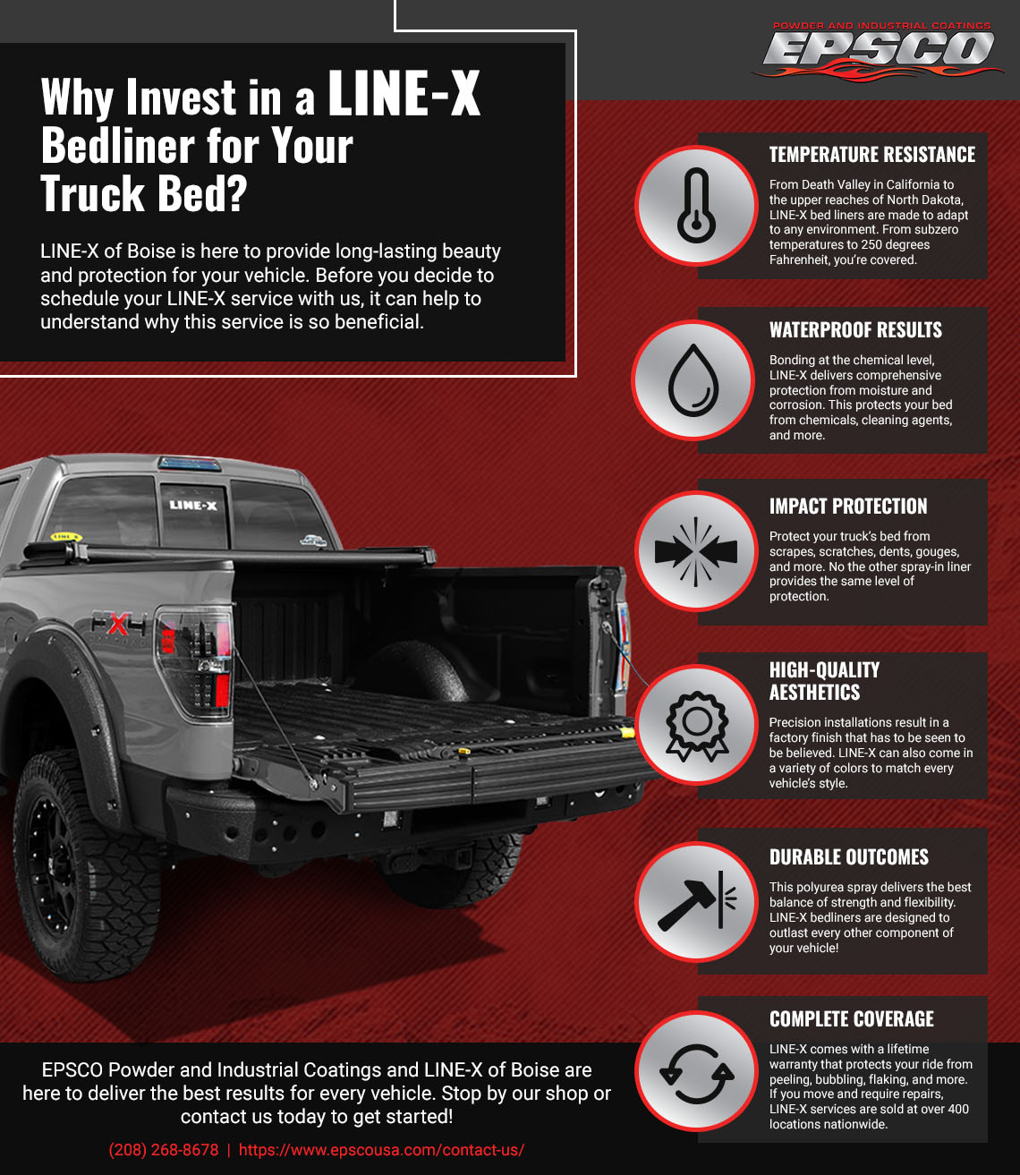 LINE-X Boise: Why Invest In LINE-X For Your Truck Bed? The