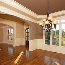 Interior painters can tackle the most difficult projects.