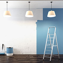 How a room painter can help you boring walls.