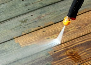 Power washing precedes exterior painting