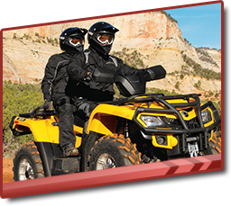 Estes Park ATV Rentals-Yellow 2 person