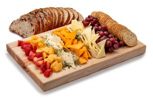 Cheese With Bread and Crackers