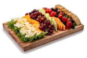 Classic-American Cheese and Fruit Tray