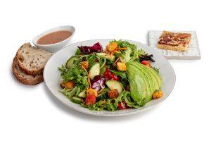 Mixed Avocado Garden Salad