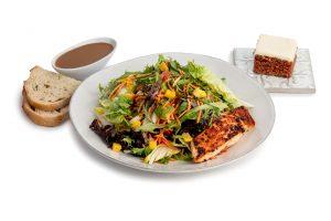 Roasted Salmon Salad