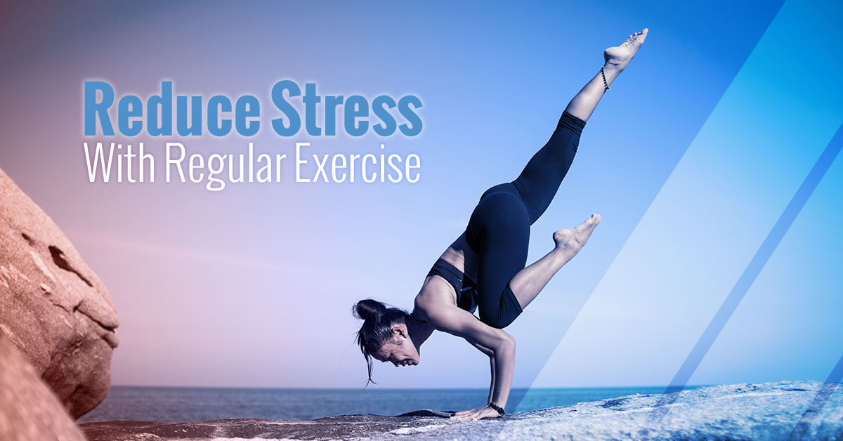 how does diet or excerise reduce stress