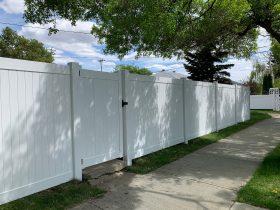 Vinyl Fence Edmonton