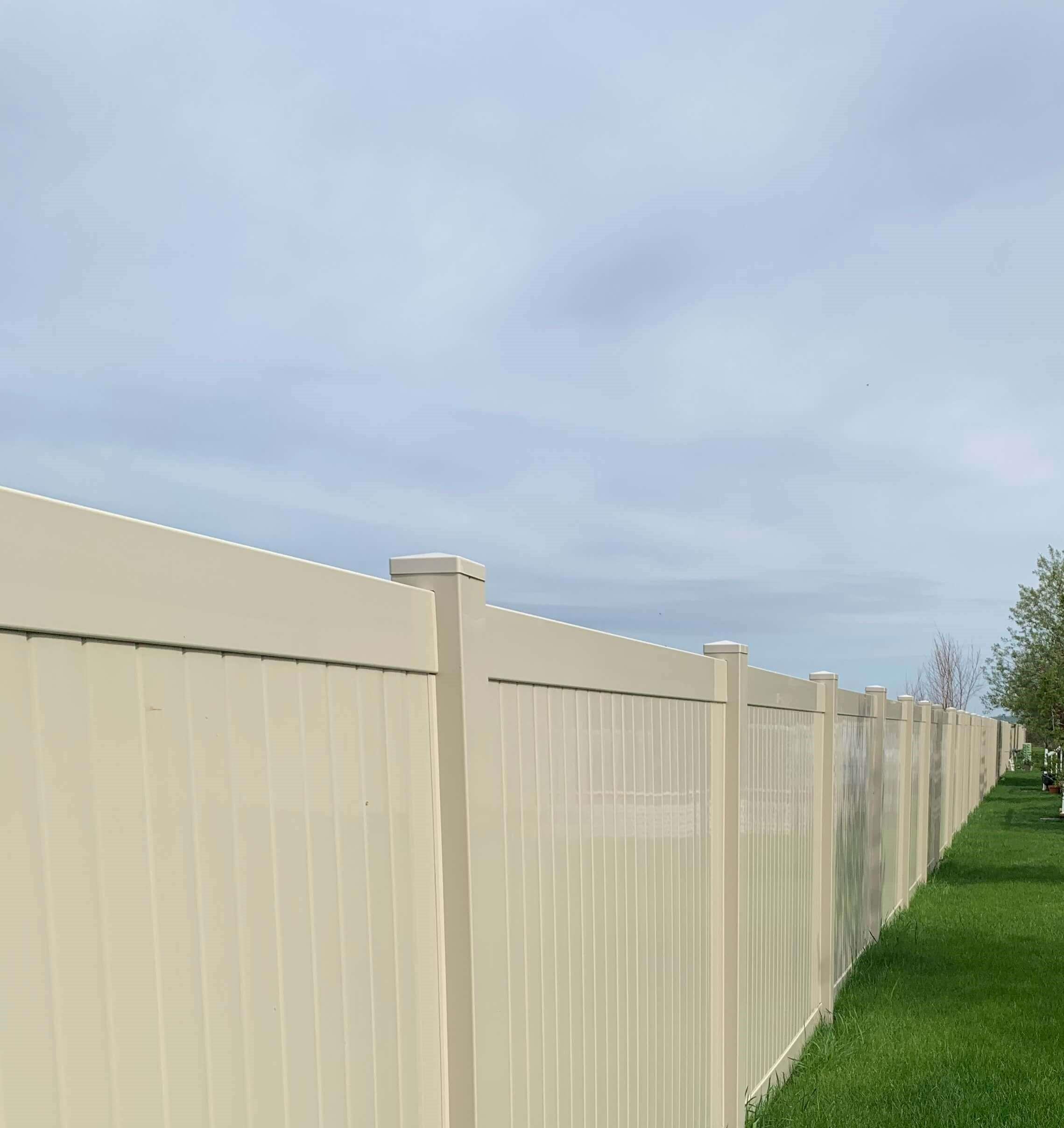Almond fence