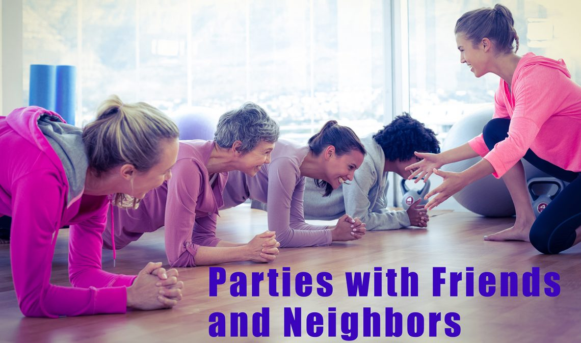 Introduce friends and neighbors to a private class today!
