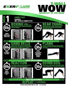 Workout of the Week - Week 1 Example