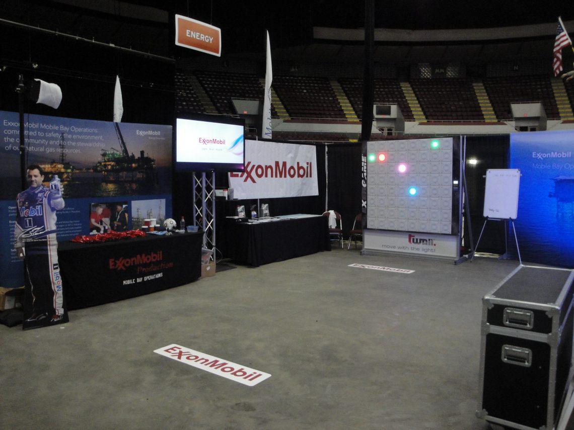 Exergame Marketing: Exxon Mobil Event - Exergame Fitness