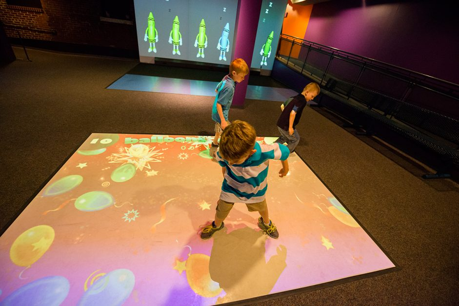 YMCA Interactive Projection System