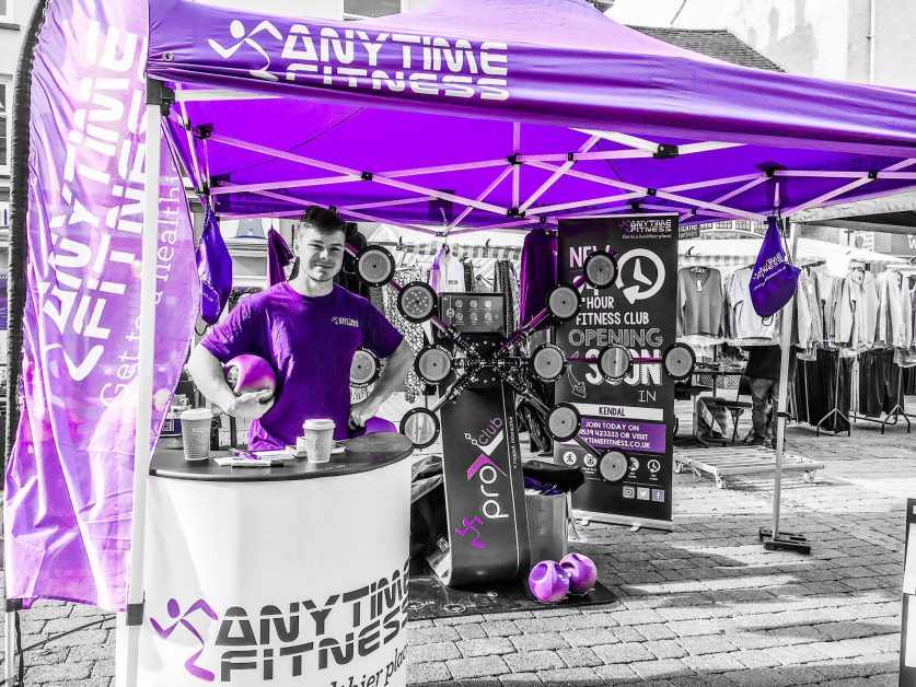 Anytime Fitness Interactive Exergame