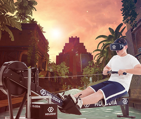 Holofit Virtual Reality Rowing