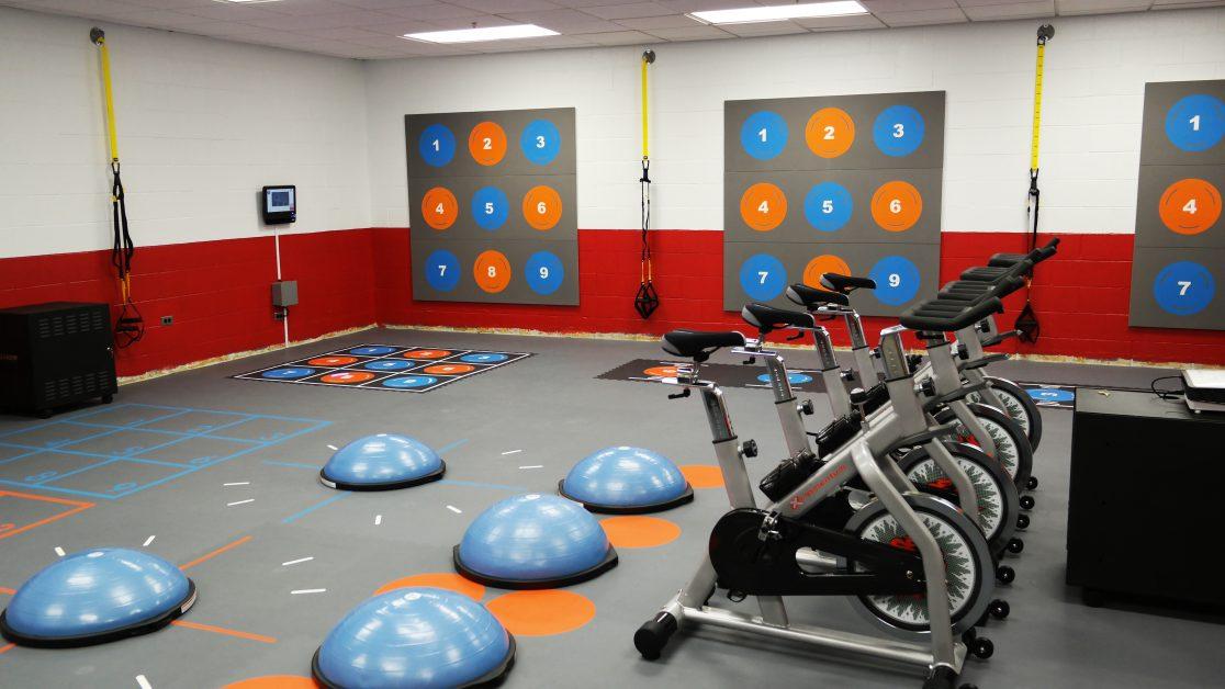 PaviGym Exergame Interactive Fitness