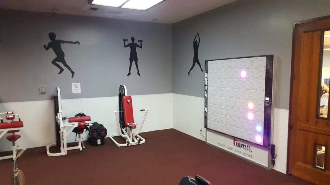 YMCA of Southeast Ventura County-Simi Valley Y Installs Exergame tWall
